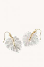 Spartina 449 Pearlescent Monstera Earrings - Product Mini Image
