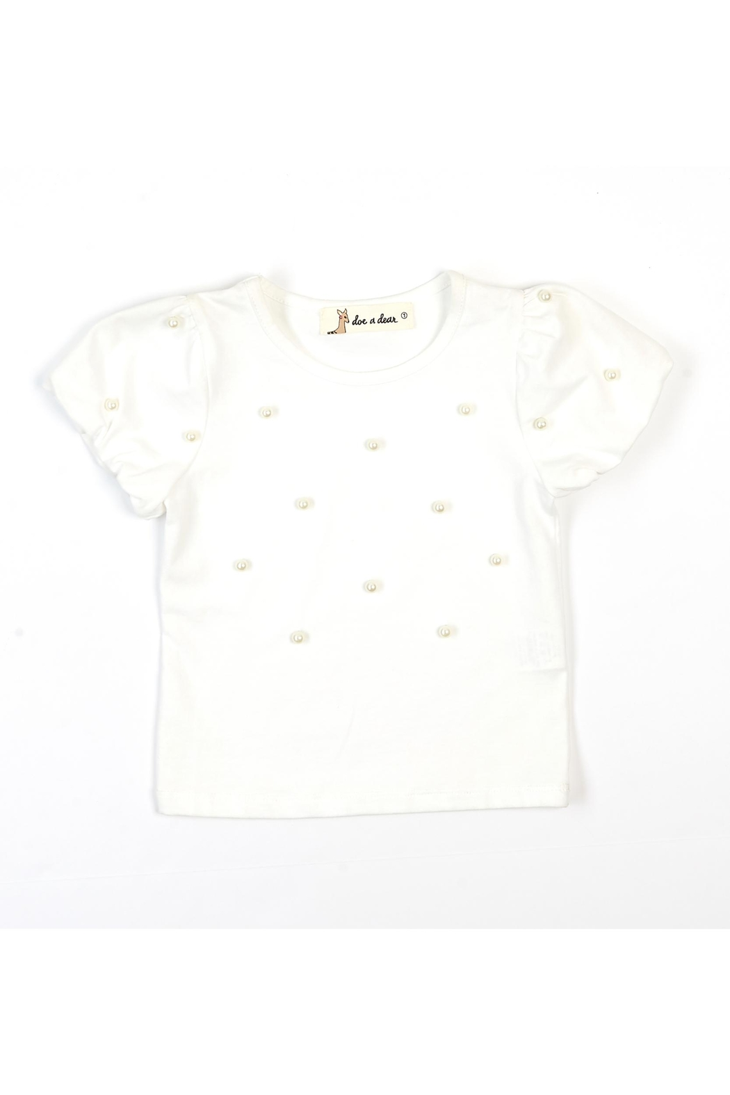 Doe a Dear Pearlized Jersey Tee - Main Image