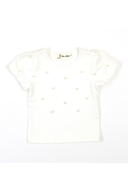 Doe a Dear Pearlized Jersey Tee - Front cropped