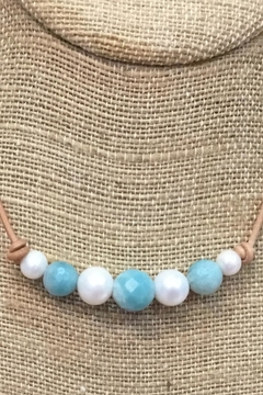 Lily Chartier Pearls Pearls And Amazonite - Alternate List Image