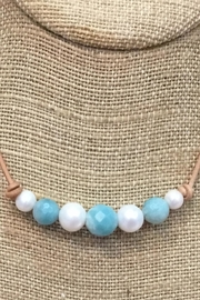 Lily Chartier Pearls Pearls And Amazonite - Product Mini Image