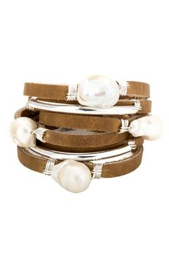 Taylor and Tessier Pearls Silver Bracelet - Alternate List Image
