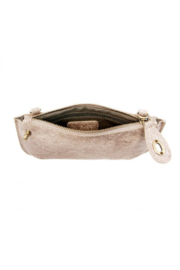Joy Accessories Pearly Python Crossbody Wristlet Clutch - Back cropped
