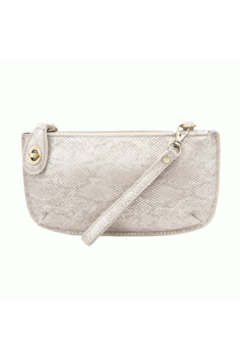 Joy Accessories Pearly Python Crossbody Wristlet Clutch - Product List Image