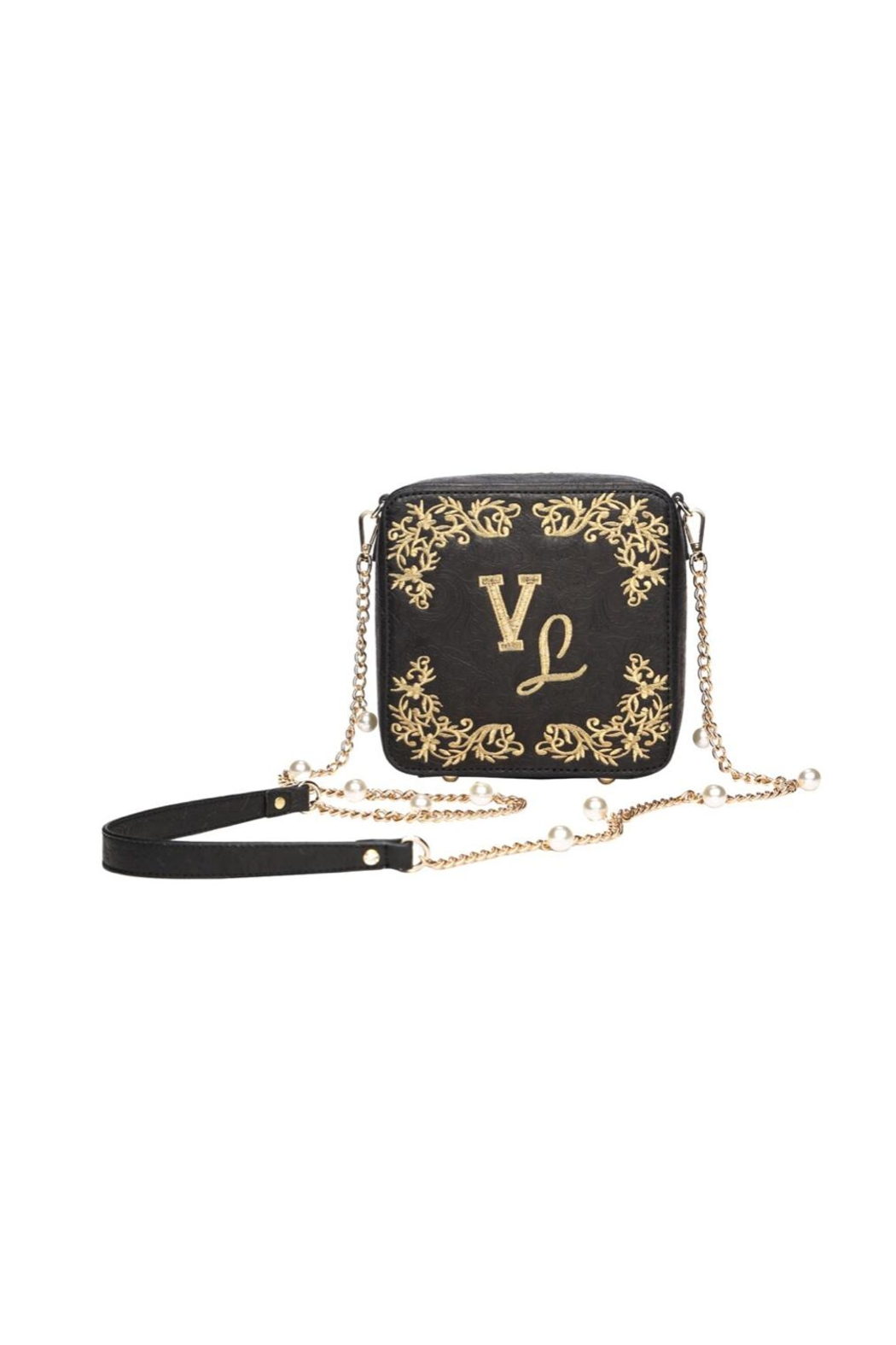 Vendula London Pearly-Queen Box Bag - Side Cropped Image