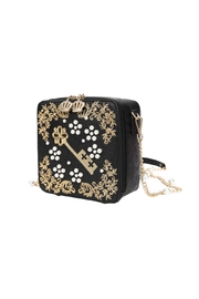 Vendula London Pearly-Queen Box Bag - Front full body