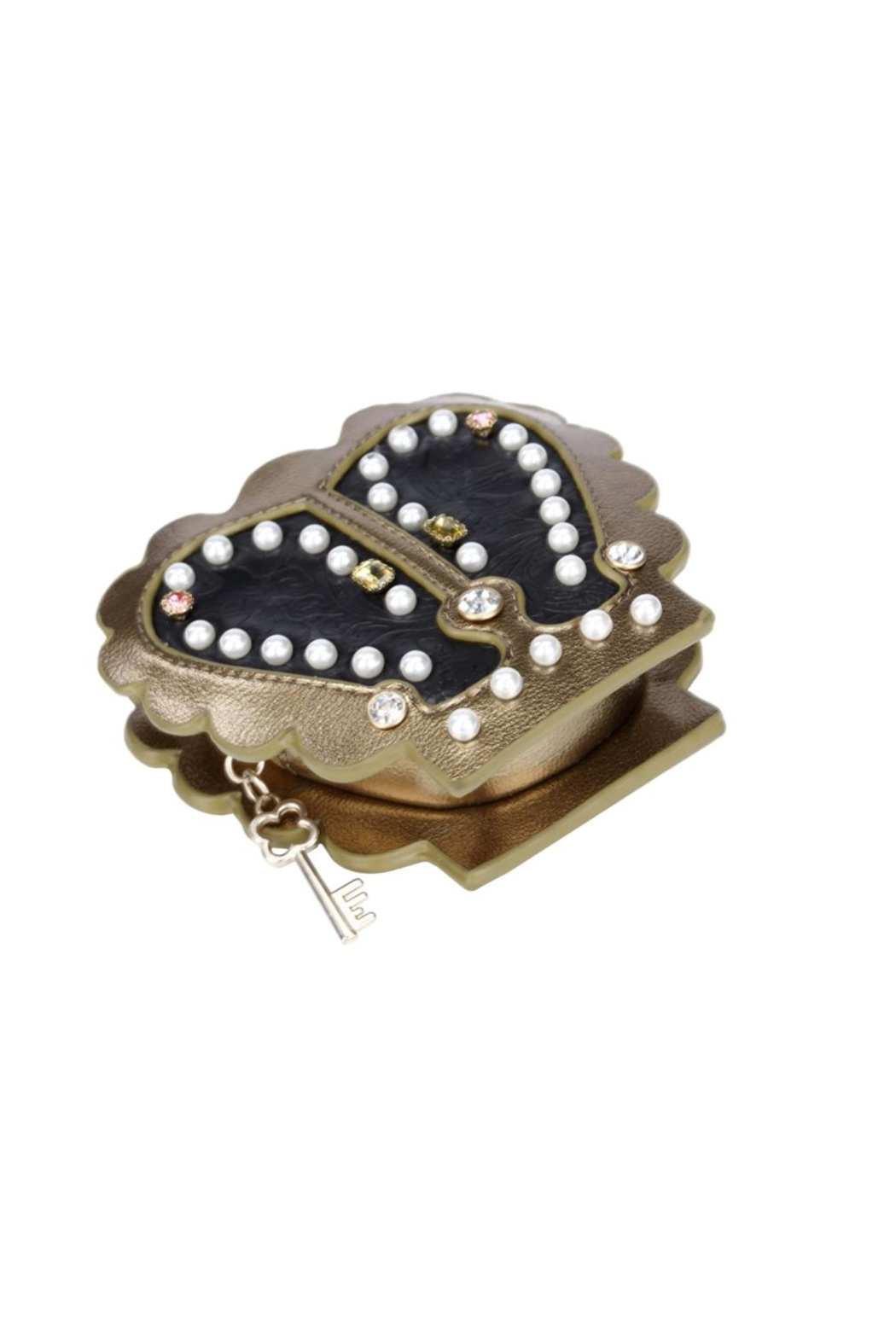 Vendula London Pearly-Queen Coin Purse - Back Cropped Image
