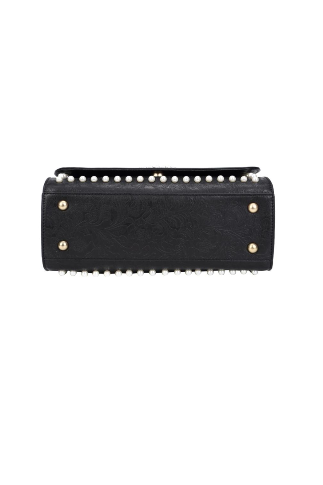 Vendula London Pearly-Queen Shoulder Bag - Back Cropped Image