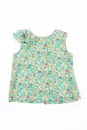Peas and Queues Elsie Ruffle Top - Product Mini Image