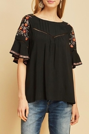 LuLu's Boutique Peasant Top - Front cropped