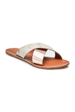 Matisse Pebble Cross Strap Sandals - Product List Image
