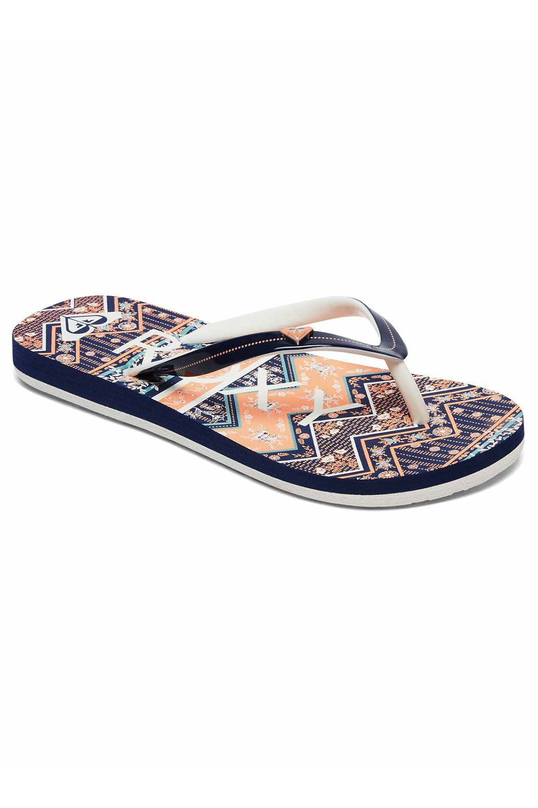 Roxy Pebbles Flip Flops - Front Cropped Image