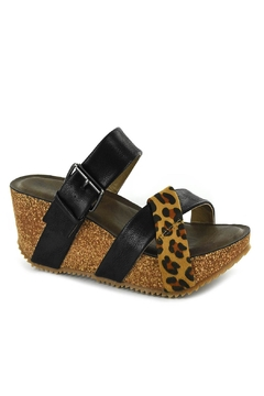 Corkys Pecos Black/leopard - Alternate List Image