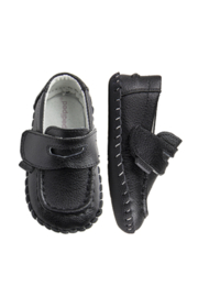Pediped Footwear Pediped Charlie Black Loafer - Front cropped