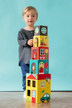 Shoptiques Product: Peek-a-Boo Stacking Blocks