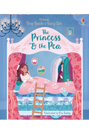 Usborne Peek Inside A Fairy Tale: The Princess & The Pea - Product Mini Image