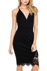 ASTR the Label Peeking Lace Bodycon Dress - Product Mini Image