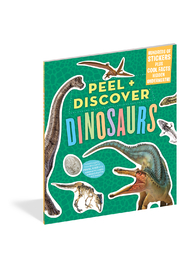 Workman Publishing Peel and Discover Dinosaurs - Product Mini Image