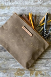 Peg & Awl Waxed Canvas Pouch - Product Mini Image