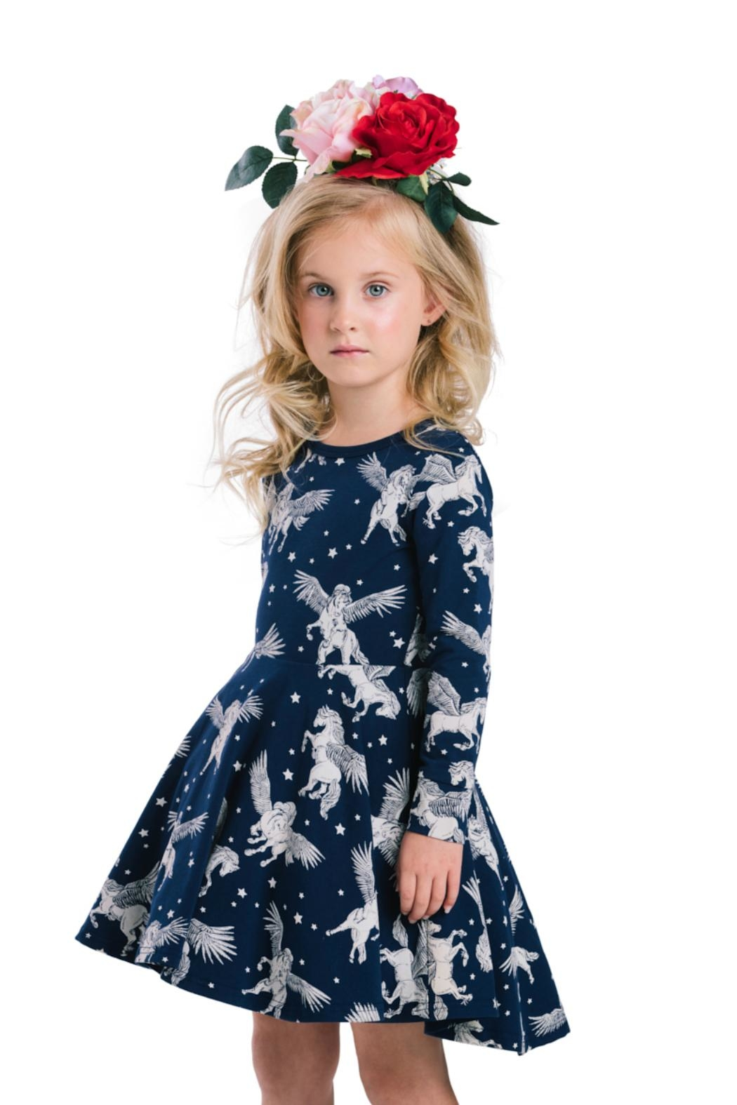 Rock Your Baby Pegasus Dress - Side Cropped Image