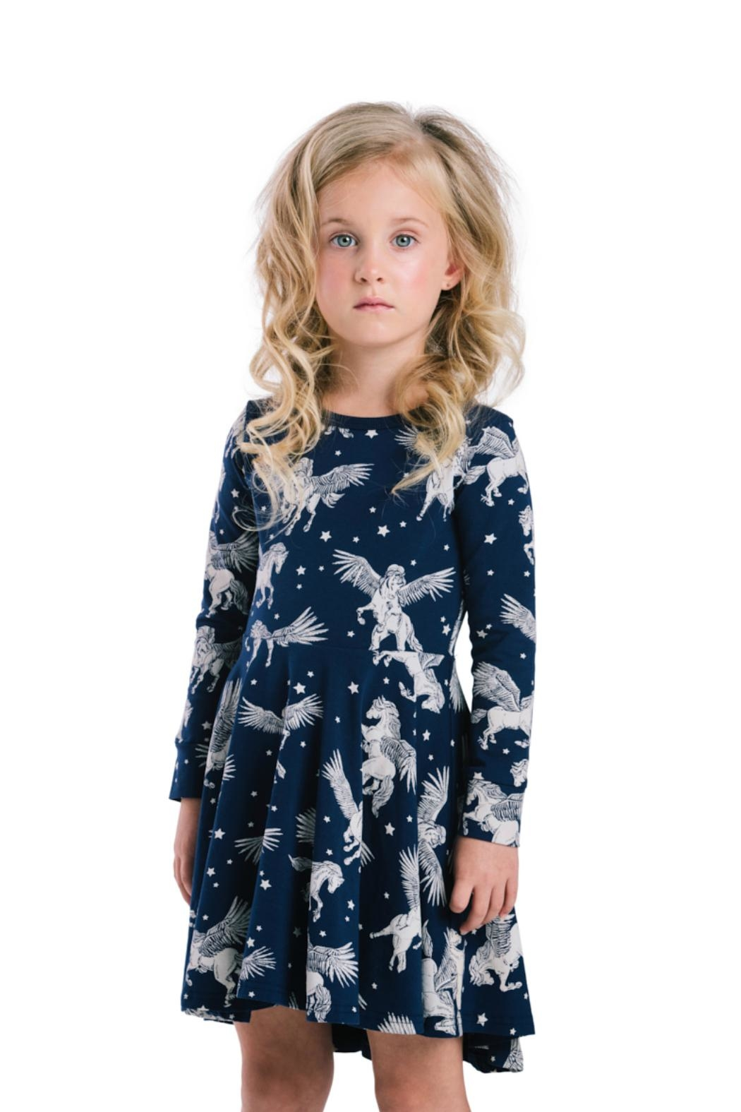 Rock Your Baby Pegasus Dress - Back Cropped Image