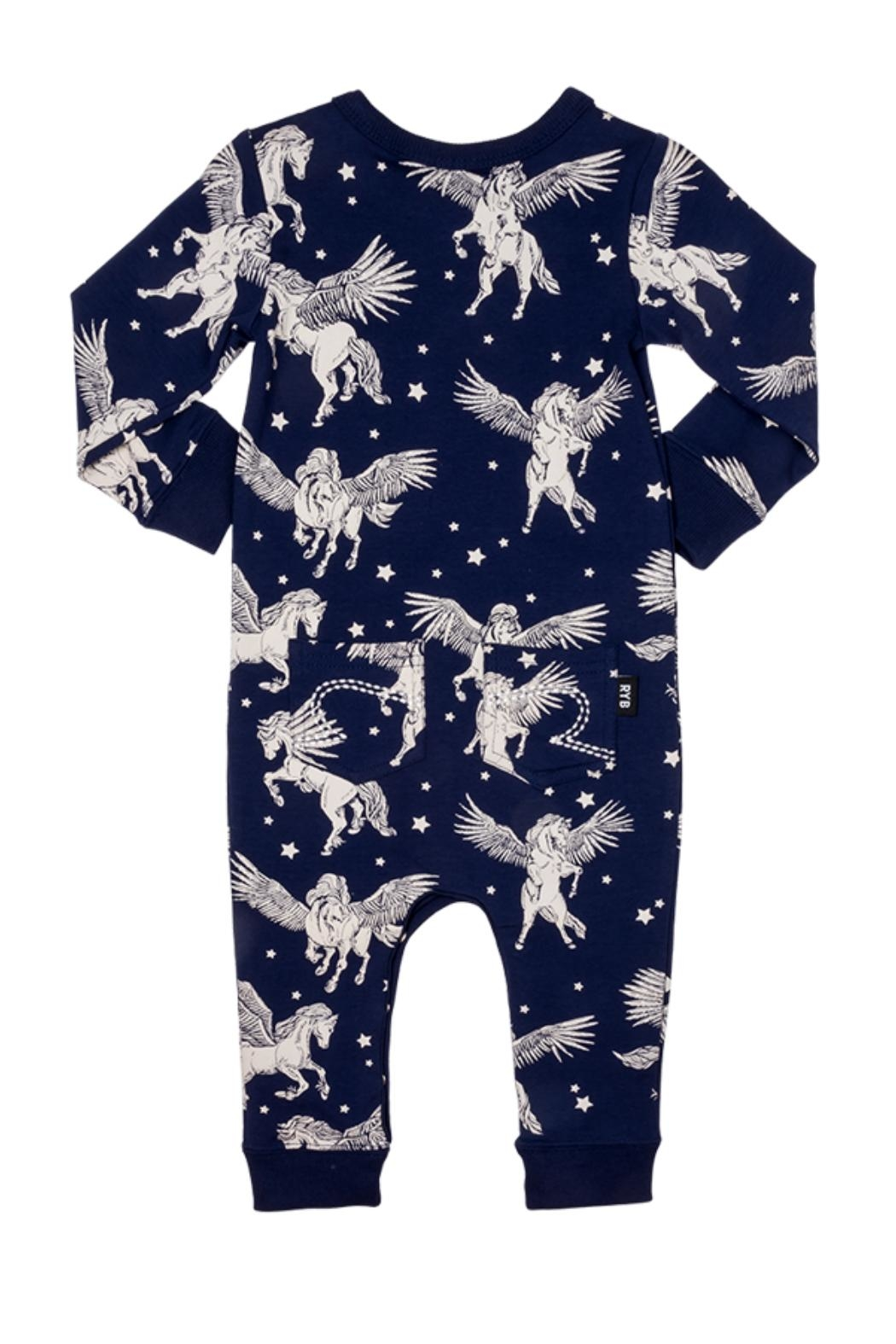 Rock Your Baby Pegasus Playsuit - Front Full Image