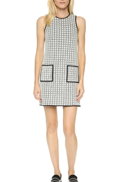 4.Collective Peggie Houndstooth-Shift Dress - Product List Image