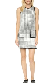 4.Collective Peggie Houndstooth-Shift Dress - Product Mini Image