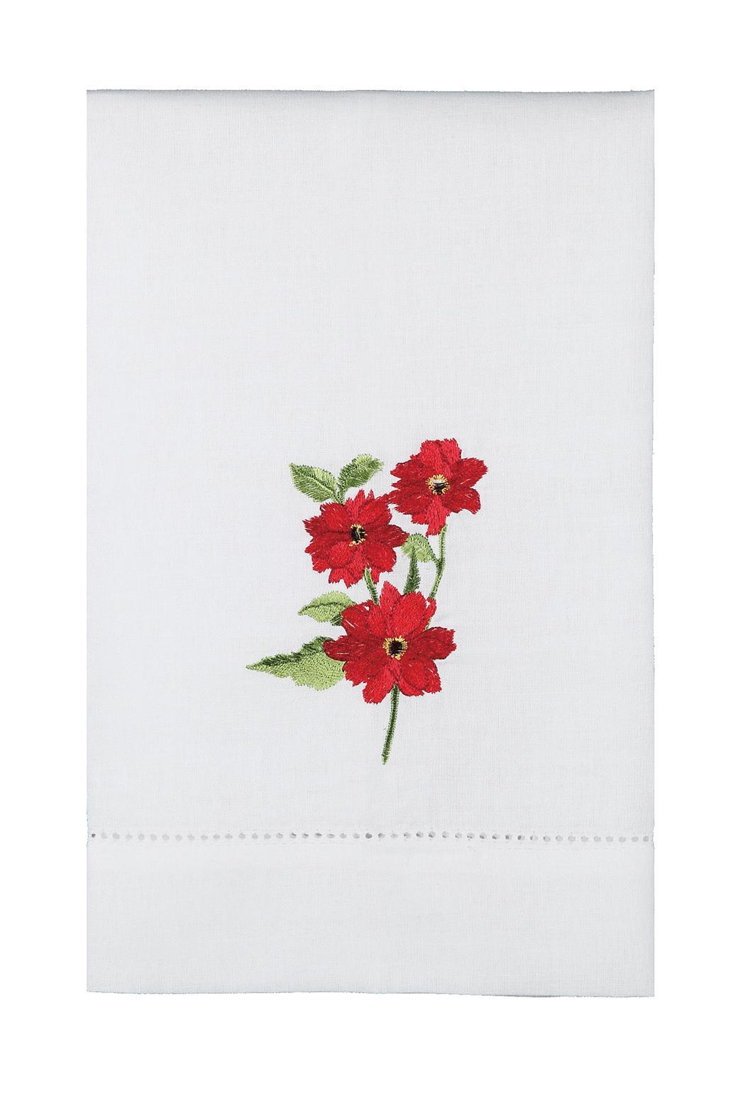 Peking Handicraft Flower Guest Towel - Main Image