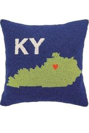 Peking Handicraft Kentucky Hook Pillow - Product Mini Image