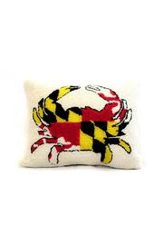 Peking Handicraft Maryland Crab Pillow - Front cropped