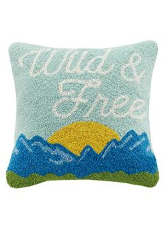 Peking Handicraft Wild & Free Pillow - Alternate List Image