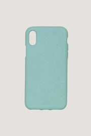 PELA CASE Eco Friendly Ocean Turquoise Iphone xr Case - Front cropped