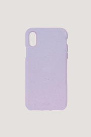 PELA CASE Lavender Protective Case, Iphone X - Front cropped