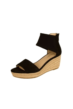 Shoptiques Product: Black Espadrille Wedge