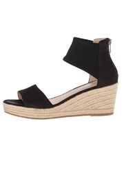 Pelle Moda Black Stretchy Wedge - Product Mini Image