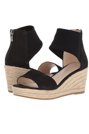 Pelle Moda Black Stretchy Wedge - Side cropped