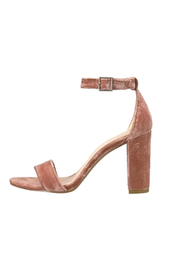 Shoptiques Product: Blush Velvet Heels