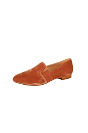 Pelle Moda Blush Velvet Loafer - Product Mini Image