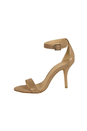 Pelle Moda Taupe Shimmer Heel - Front cropped