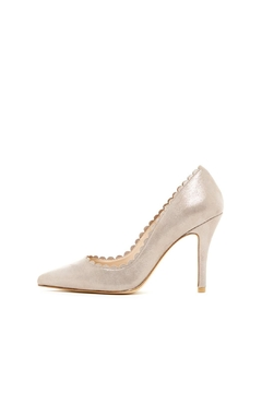 Pelle Moda Taupe Shimmer Pump - Product List Image