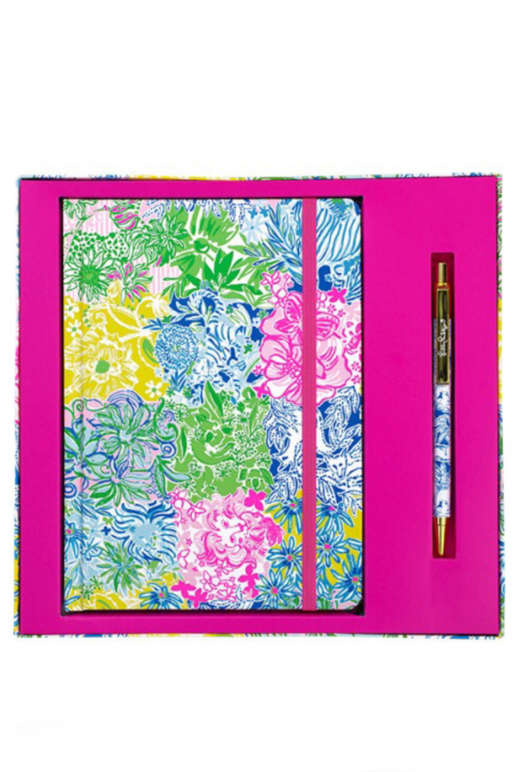Lilly Pulitzer  Pen & Journal Set - Front Cropped Image