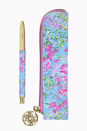 Lilly Pulitzer  Pen with Pouch - Product Mini Image
