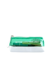 About Face Designs Pencil Makeup Bag - Front full body