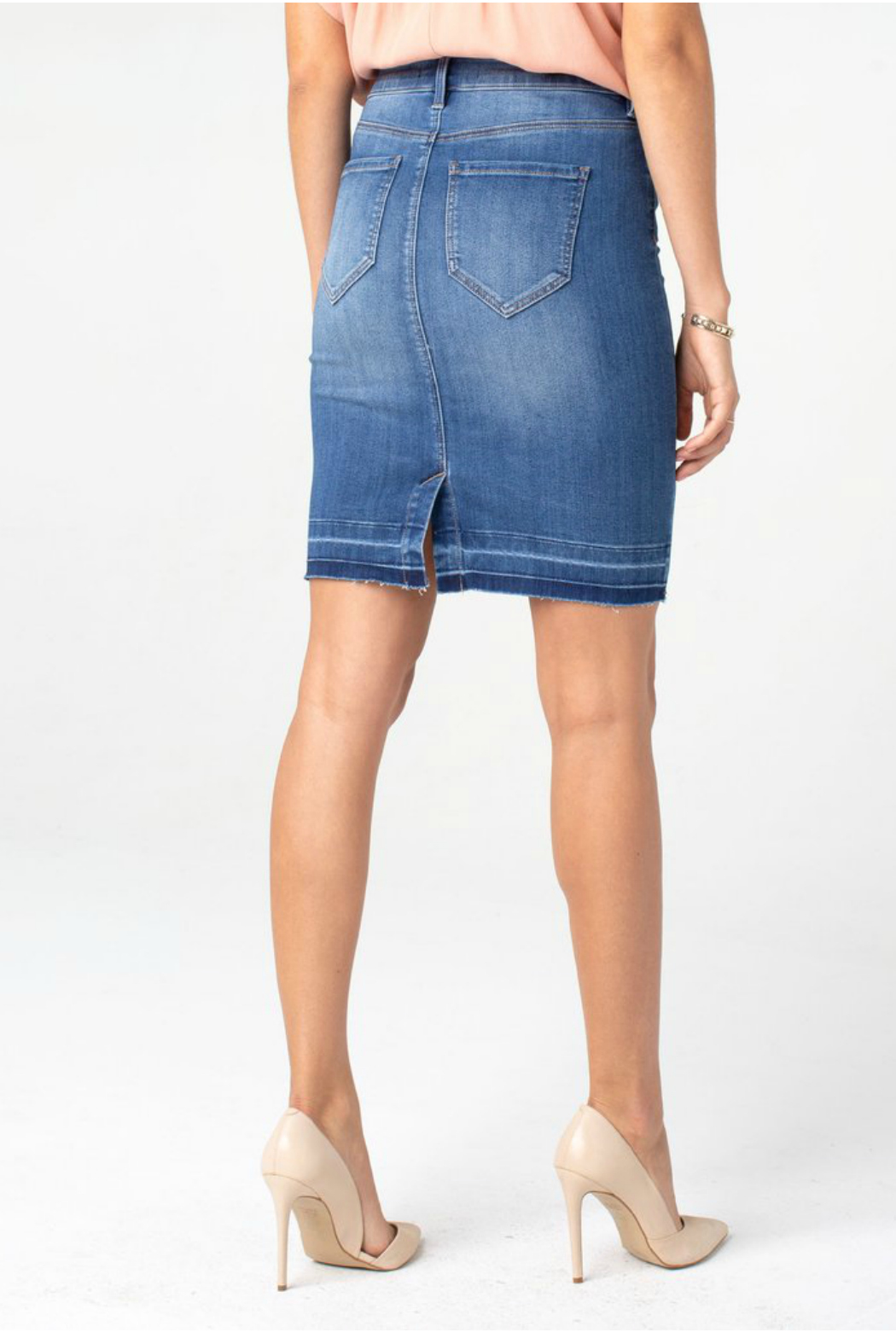 Liverpool Pencil skirt - Front Full Image
