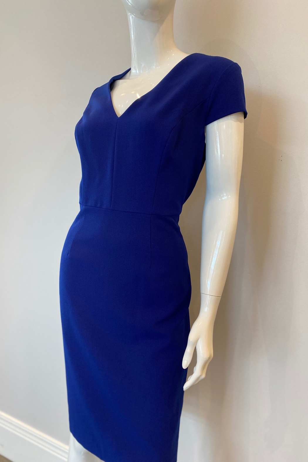 Adrianna Papell Pencil Skirt Sheath Dress - Front Full Image