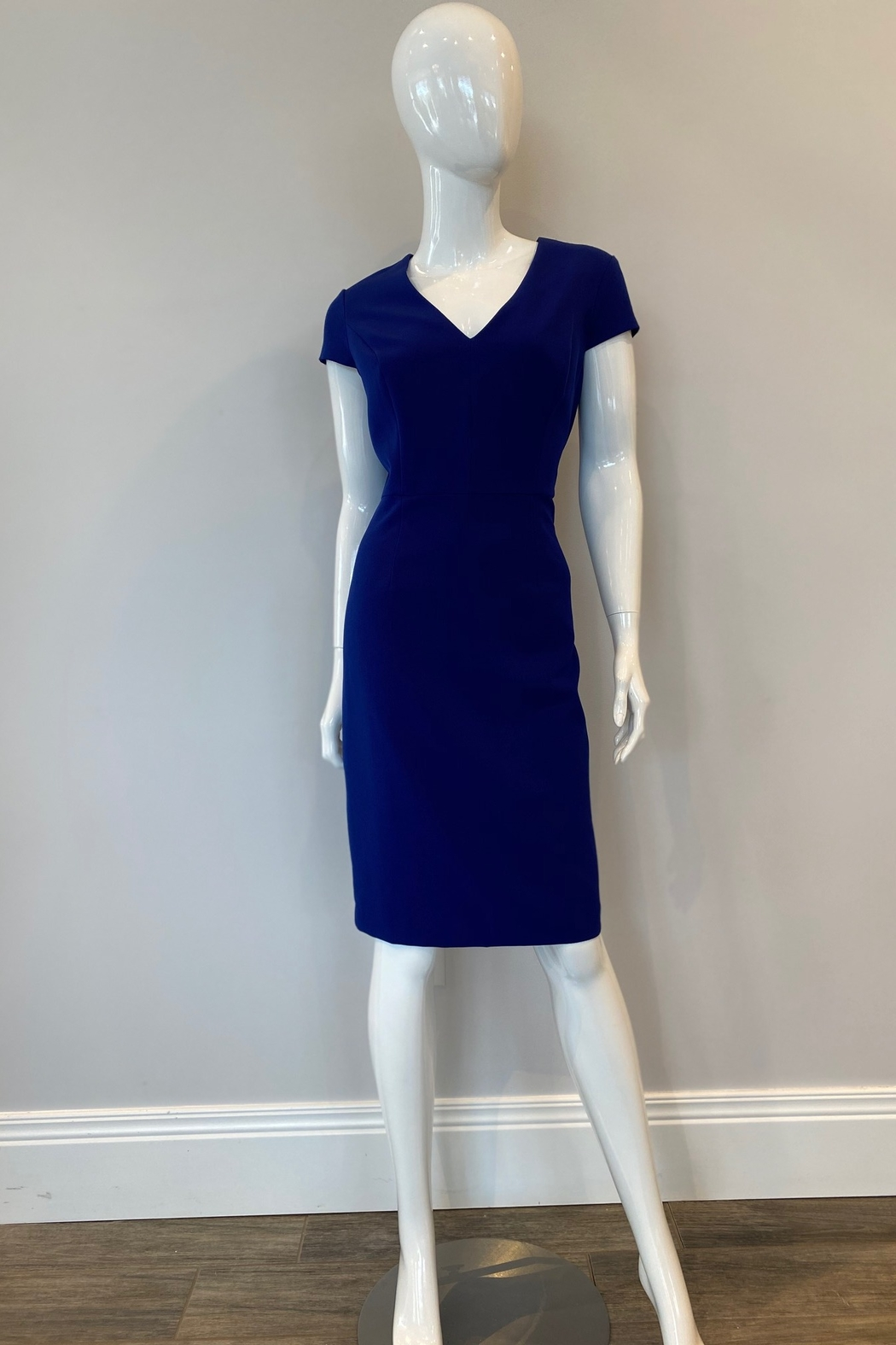 Adrianna Papell Pencil Skirt Sheath Dress - Front Cropped Image