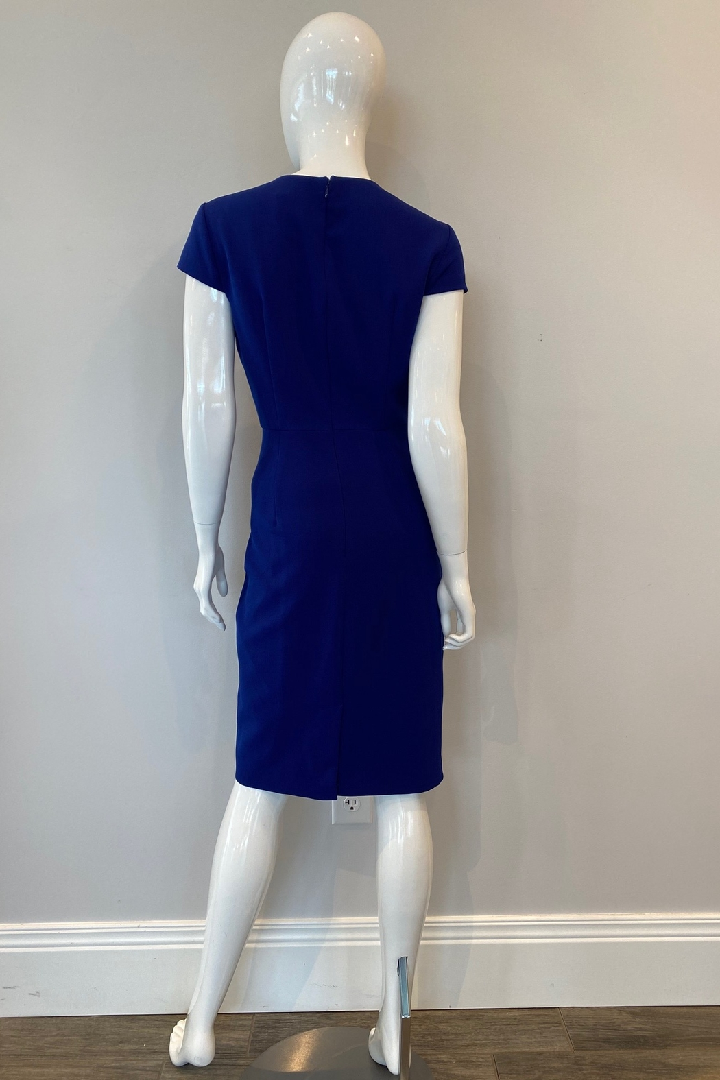 Adrianna Papell Pencil Skirt Sheath Dress - Side Cropped Image