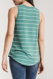 z supply Pencil Striped Tank - Front full body