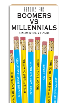 WHISKEY RIVER SOAP CO. Pencils - Boomers VS - Alternate List Image
